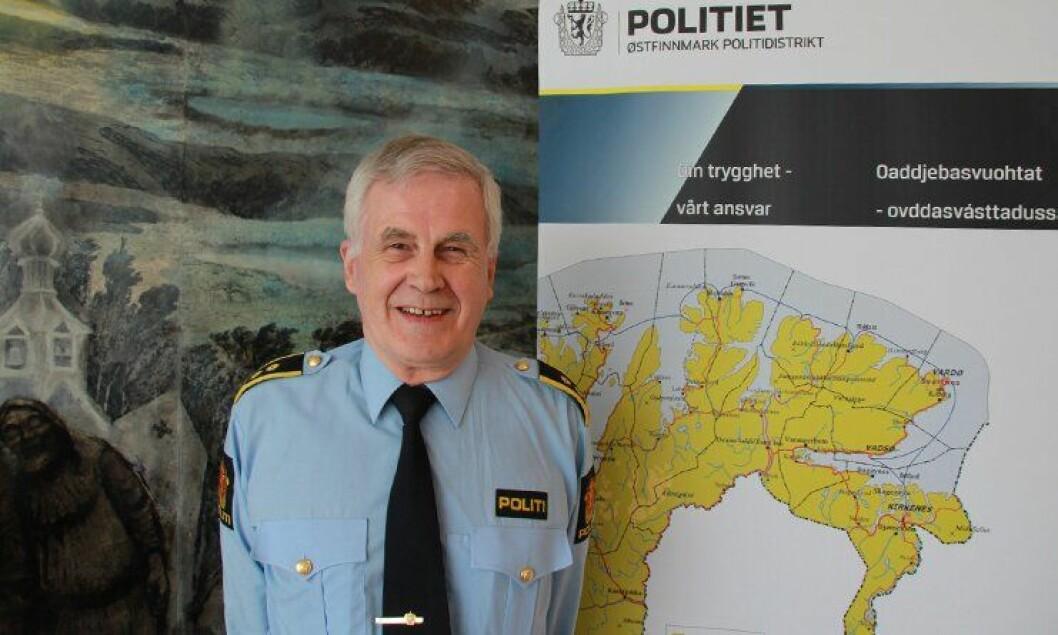 Politiadvokat Jon Bertelsen (69) var kanskje landets eldste, uniformerte politiansatte fram til sin siste arbeidsdag 30. mai 2014.