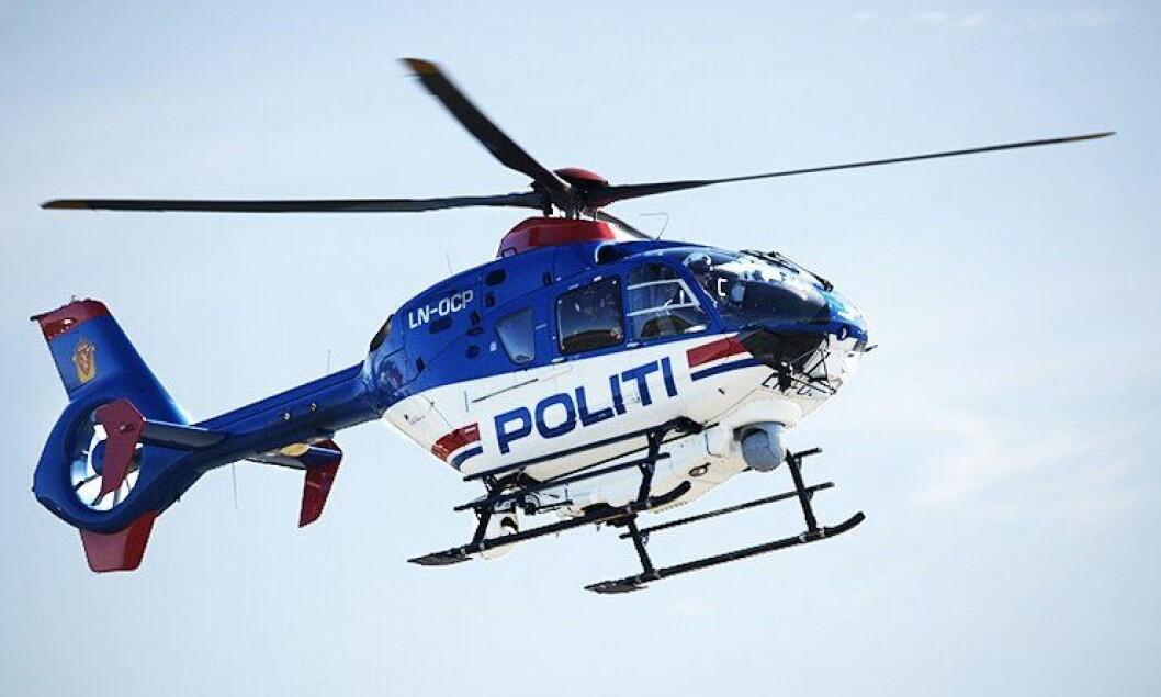 Politihelikopterne har fått fremskutt lagring av våpen.