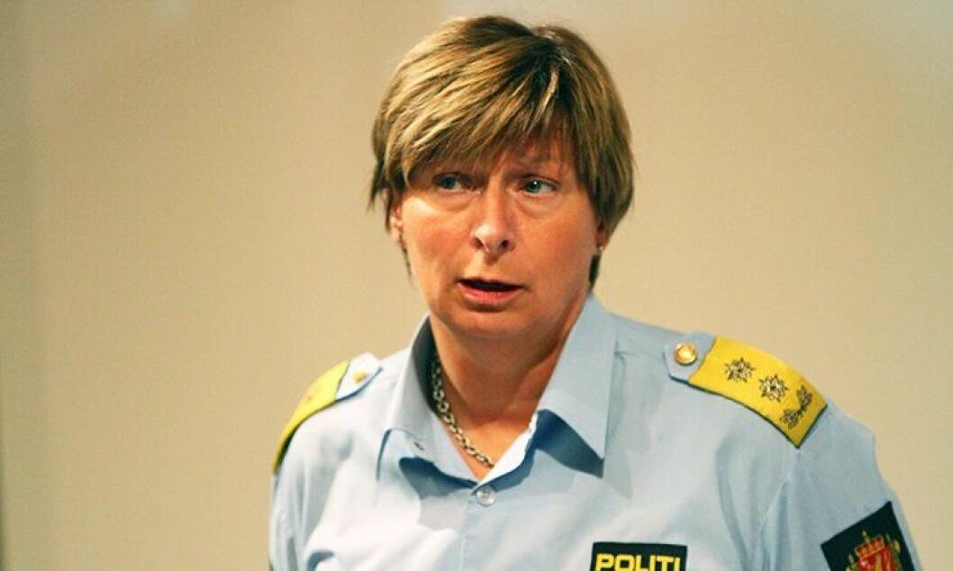 Politimester i Nordre Buskerud, Sissel Hammer.