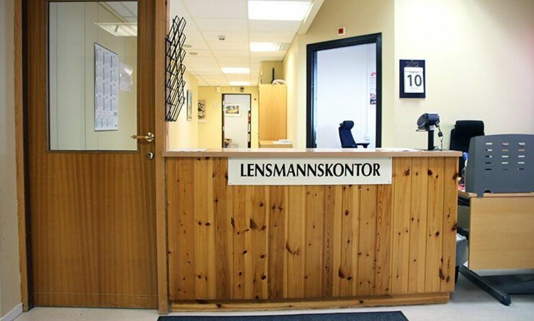 Flere lensmannskontorer er uten bemanning denne sommeren.
