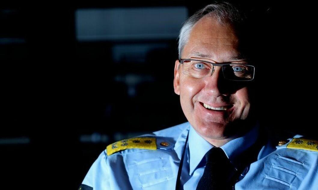 Politidirektør Odd Reidar Humlegård er fornøyd med poiltiets støtte.