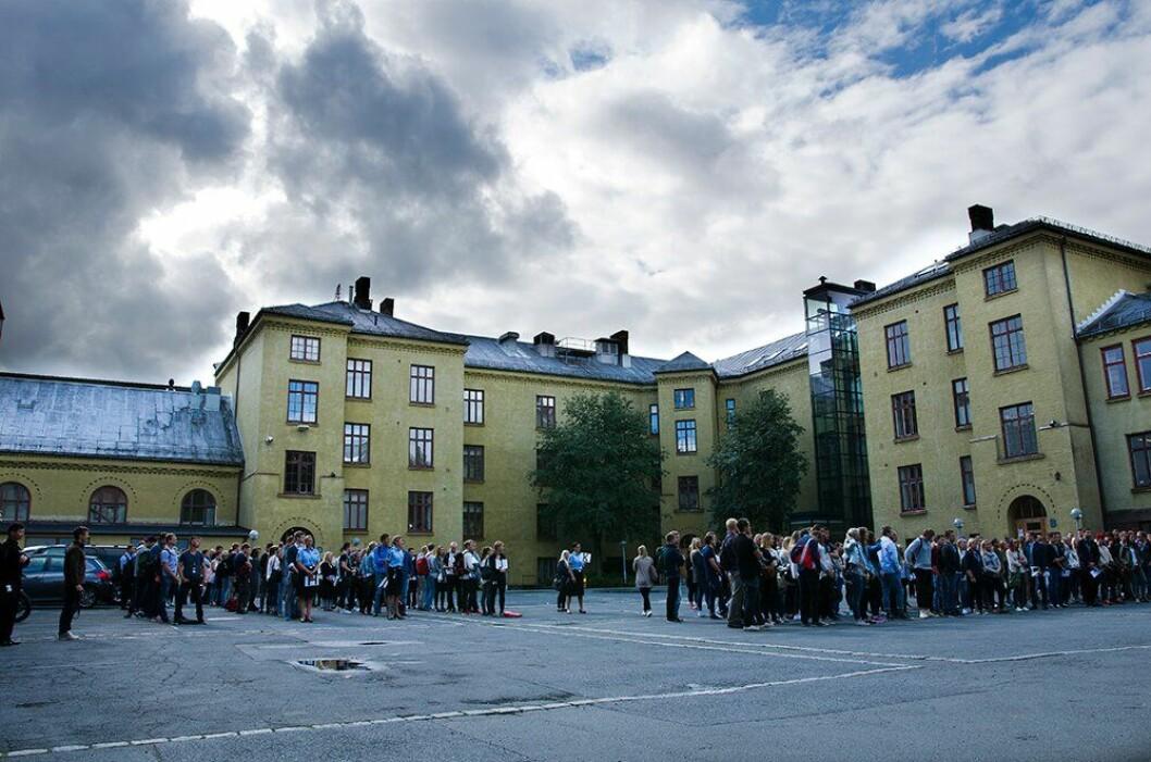 Politihøgskolens gamle bygg på Majorstua i Oslo må skiftes ut.