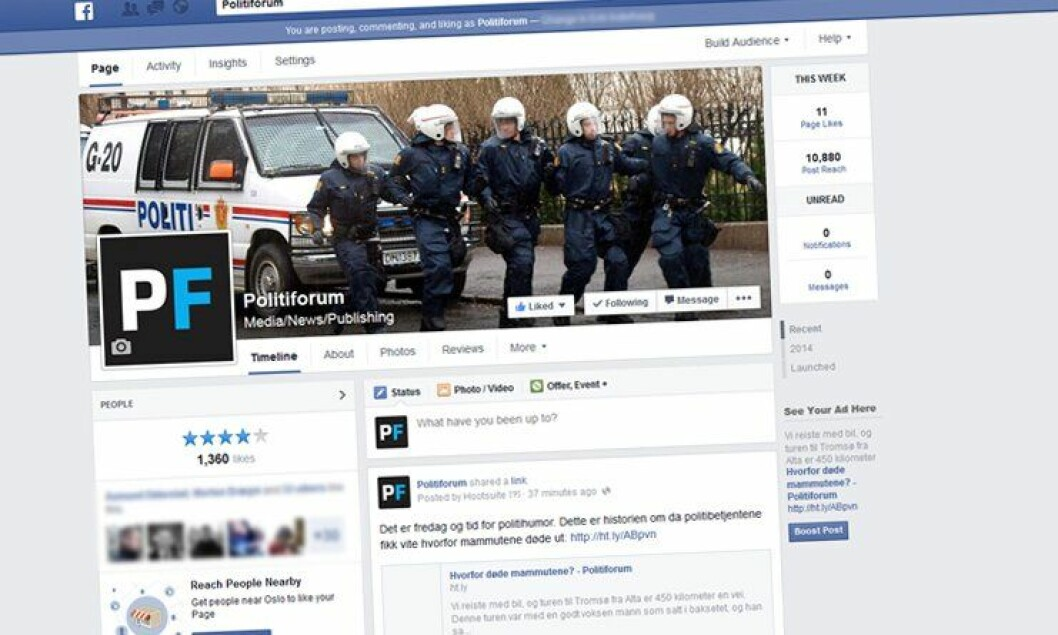 Teknologirådet mener politiet i altfor liten grad utnytter potensialet som ligger i overvåkning av sosiale medier.