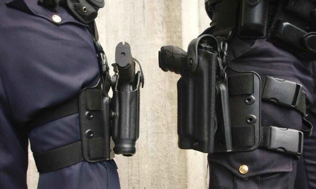 Politiet har er ofte bevæpne, men skyter sjelden viser tall fra Politidirektoratet.