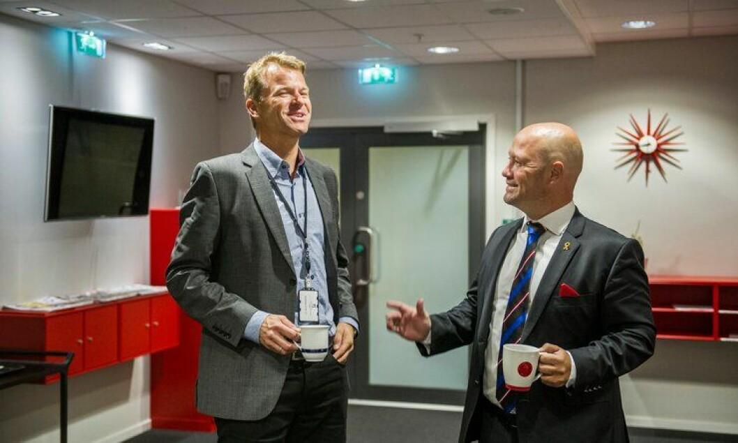 PF-leder Sigve Bolstad er svært bevisst på viktigheten av samarbeid og dialog med både politiledelsen og politisk ledelse. Justisminister Anders Anundsen (Frp) er en hyppig møtepartner.