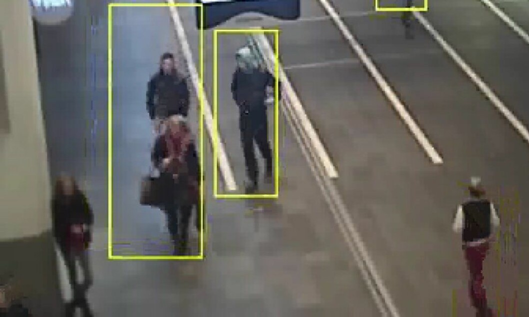 Ved hjelp av overvåkningsvideo kan supergjenkjennere kjenne igjen ansiktene til kriminelle på kort tid.