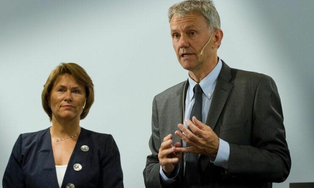 I fjor la daværende Justisminister Grete Faremo og utvalgsleder Arne Røksund fram Politianalysen.