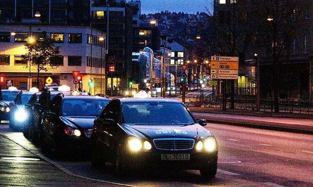 På Nordsjælland vil drosjer hjelpe politiet fra veien i tida framover. Illustrasjonsbilde.
