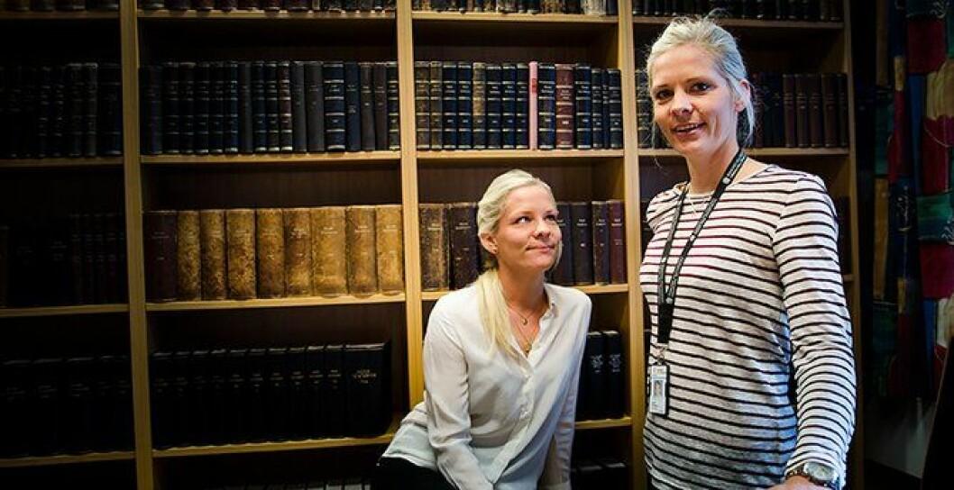 Edith og Camilla Ek Sørensen