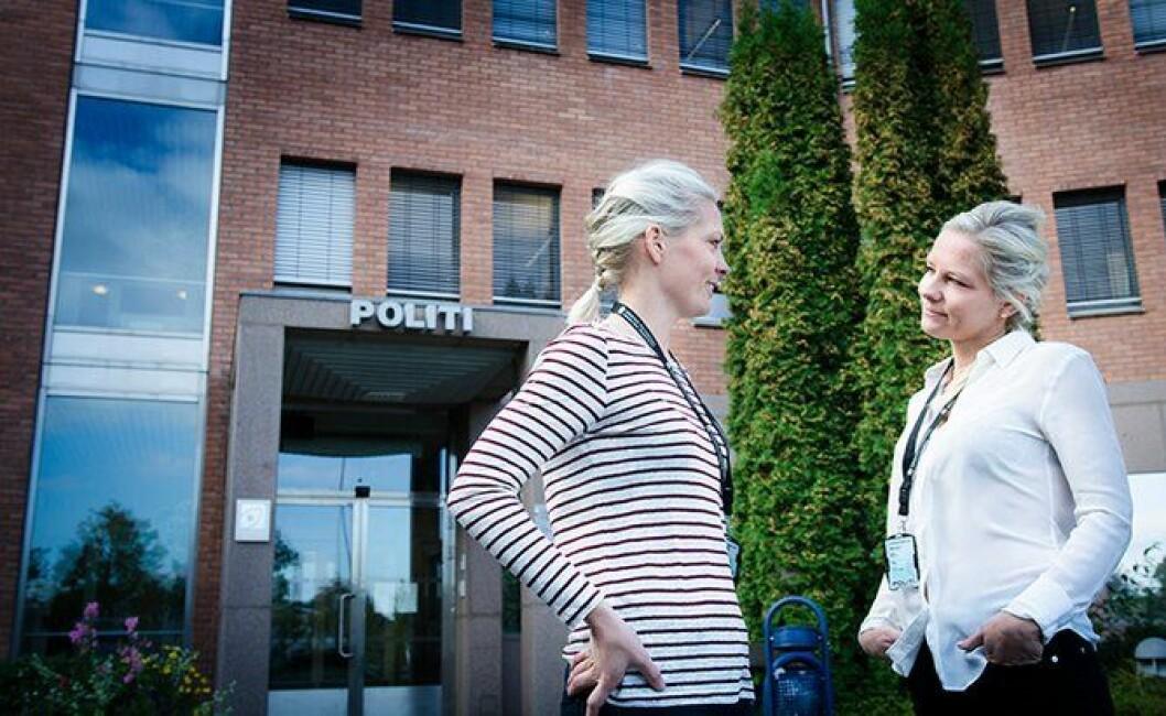 Camilla og Edith Ek Sørensen.