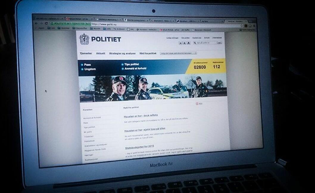 Politiet har satt i gang arbeidet mot å utnytte ny teknologi, skriver Politidirektoratet.