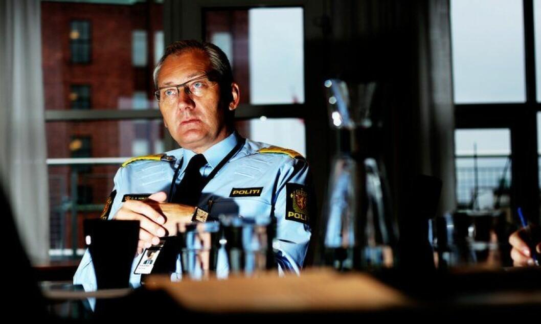 Politidirektør Odd Reidar Humlegård oppretter ny avdeling for uoppklarte saker.