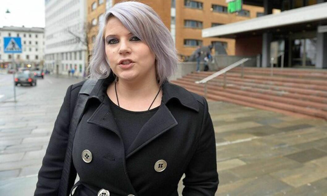 Line Skjengen er politijurist i Hordaland politidistrikt og har varslet om arbeidsforholdene til juristene.