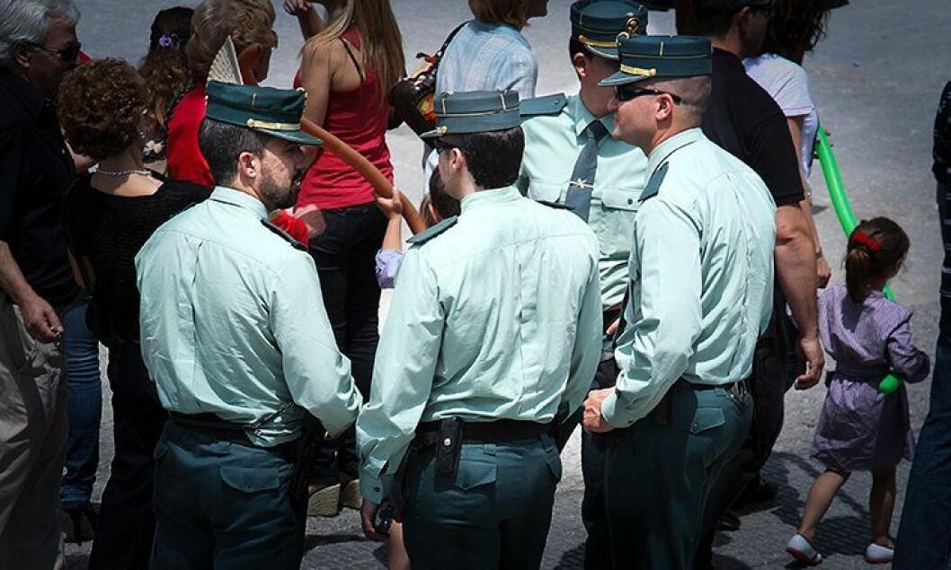 Betjenter i spanske Guardia Civil har langt høyere selvmordsrate enn sine landsmenn.