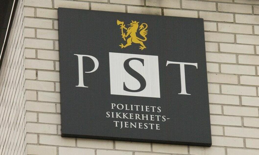 PST oppdaterte sin trusselvurdering i dag. Der skriver de at blant annet politifolk er ekstra utsatt.