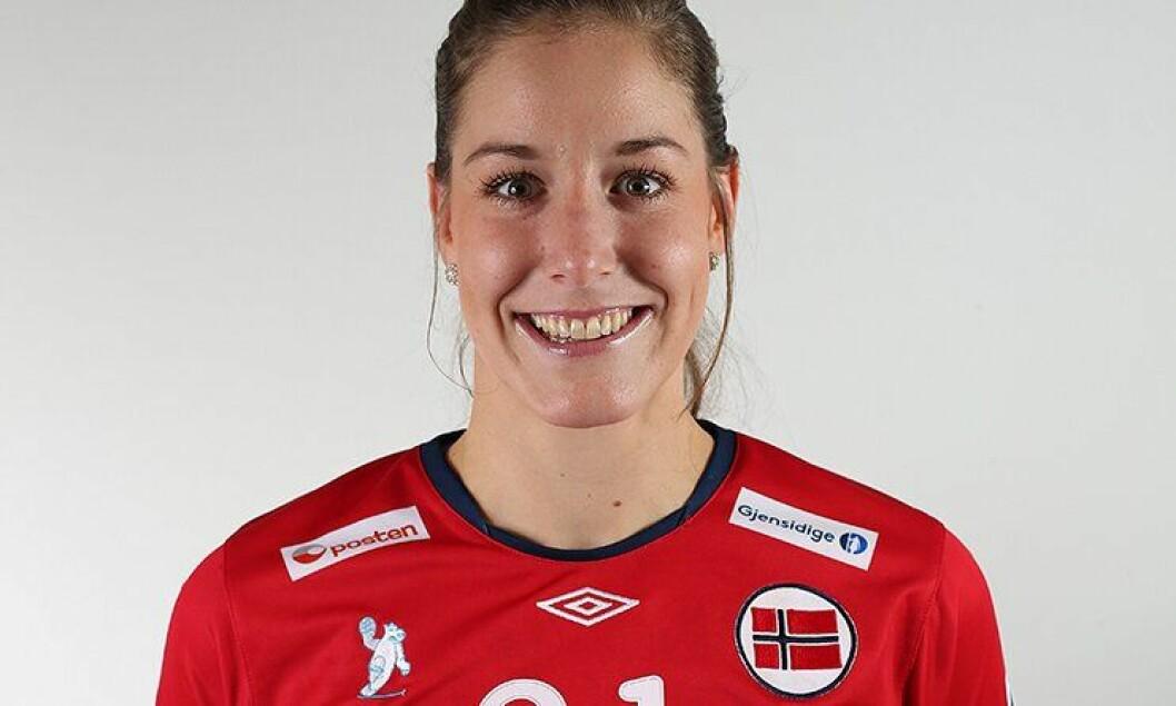 Betina Riegelhuth er etterforsker på Hamar og landslagsspiller i håndball.