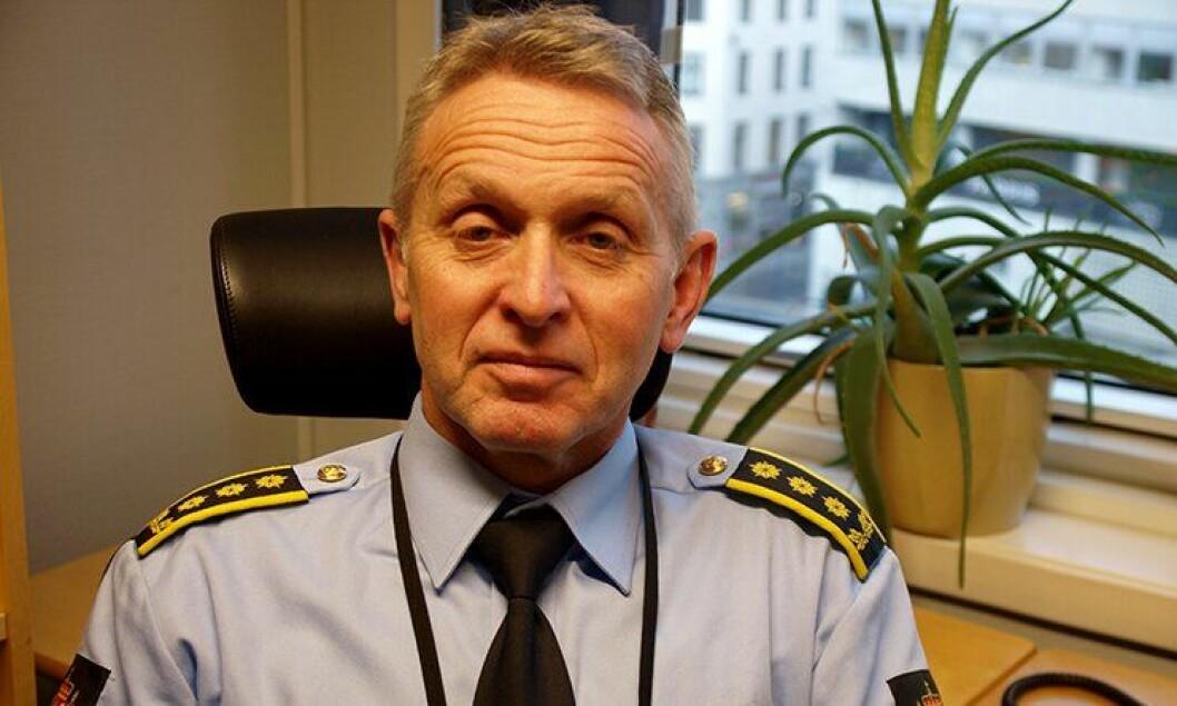 Politiinspektør Rune Andersen i Politidirektoratet er fornøyd med nye anbudsprosesser som øker konkurransen om å levere politibiler.
