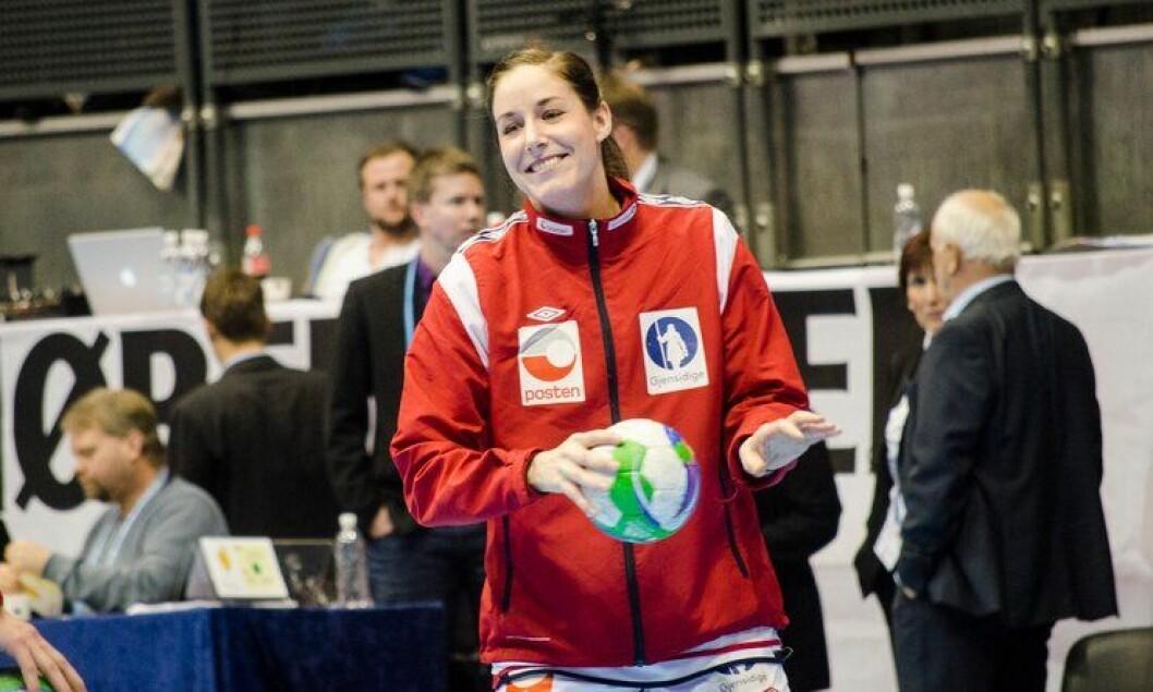Betina Riegelhuth er landslagsspiller i håndball og politietterforsker på Hamar.