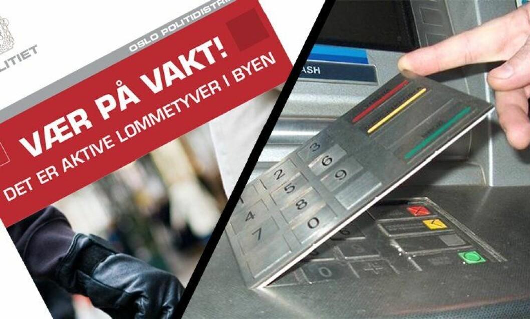 Arbeidet mot lommetyveri, skimming og ID-tyveri samles i den nye Vinningsgruppen i Oslo.
