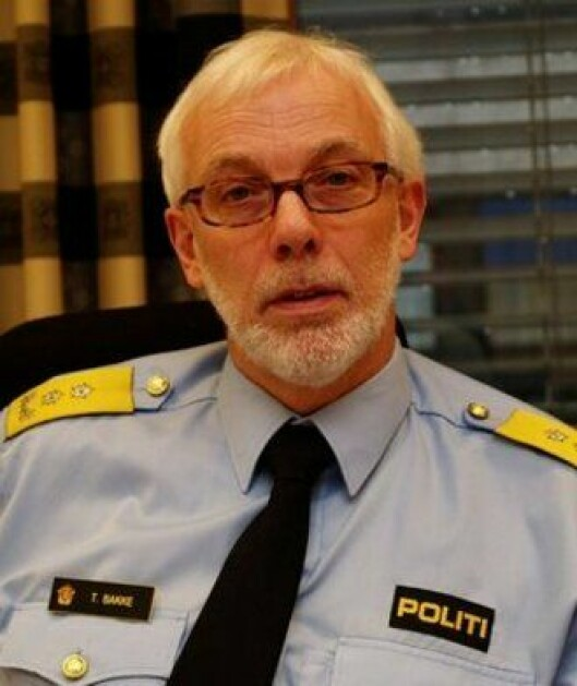 Tormod Bakke, politimester i Hedmark.