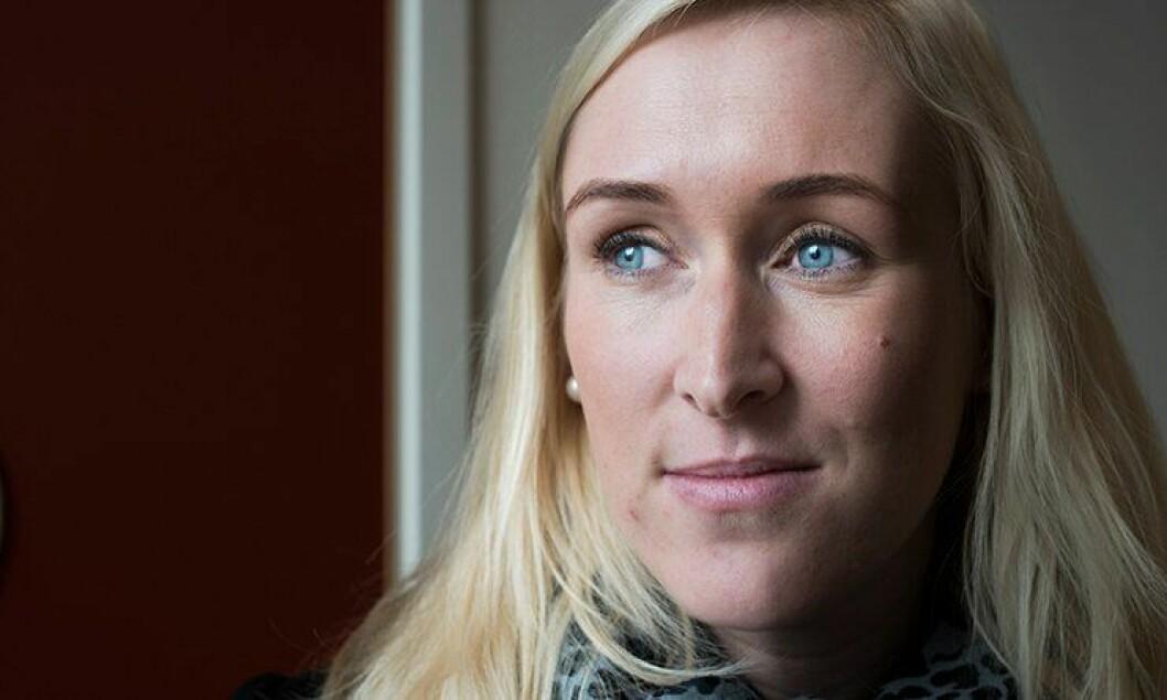 Angela Claire Wermuth er dommeravhører og jobber på Manglerud politistasjon. Hun brenner for å hjelpe utsatte barn.  – Arbeidspresset gjorde at jeg tok et galt valg for min egen familie, sier hun.