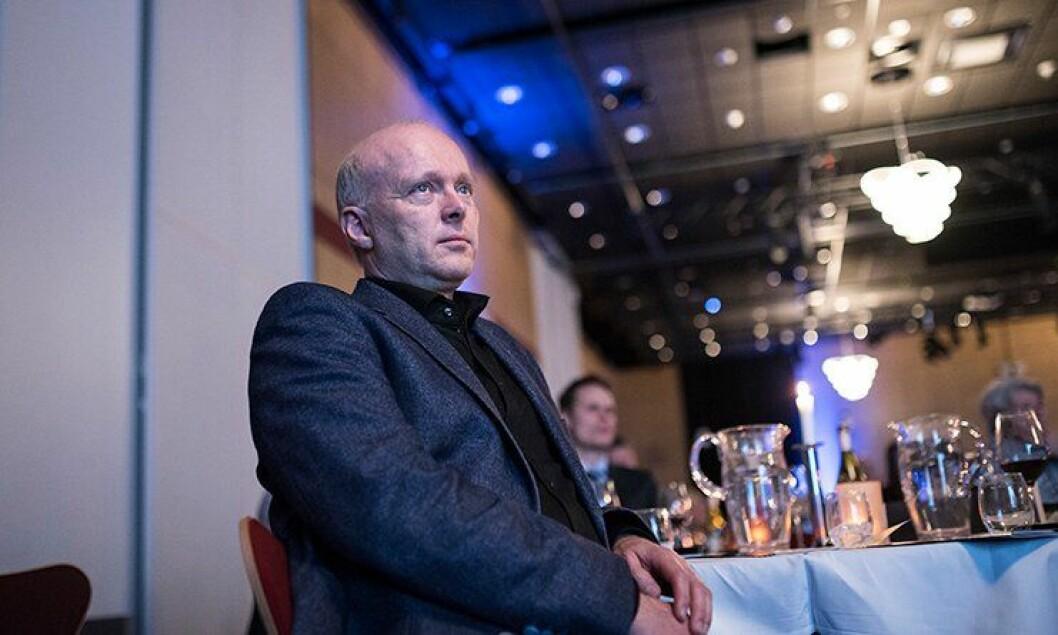 Politimester i Rogaland, Hans Vik, kom med gladmelding til årsmøtet til PF Rogaland.