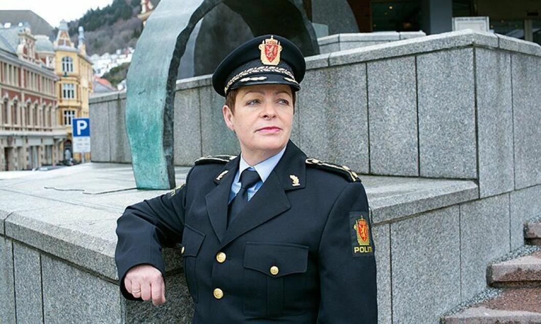 Rigmor Isehaug, seksjonssjef for vold- og sedelighetsseksjonen ved Bergen sentrum politistasjon.