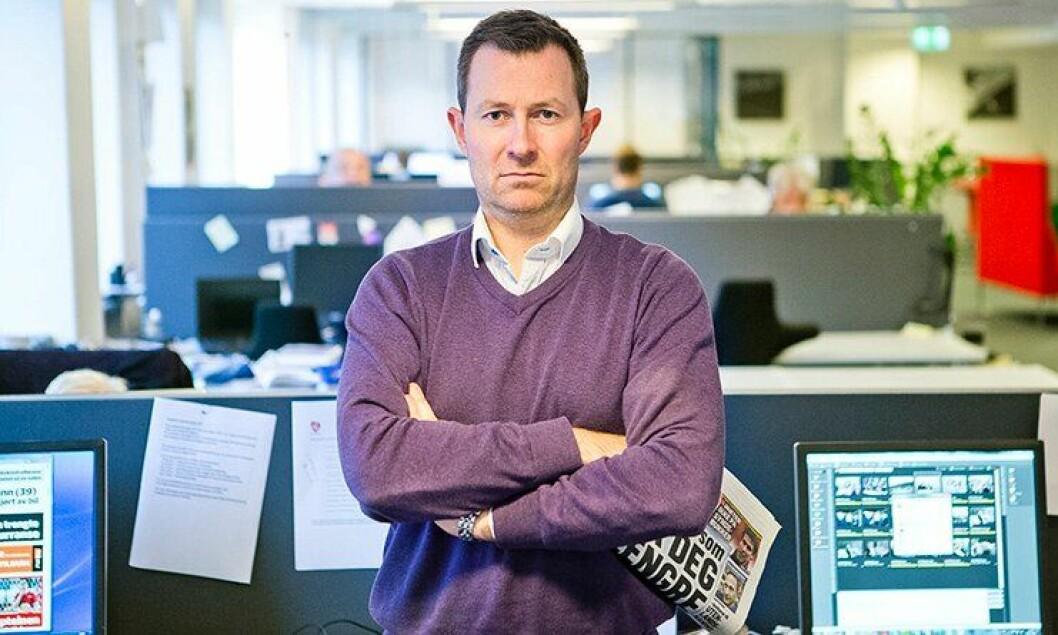 Redaktør i BA, Anders Nyland.