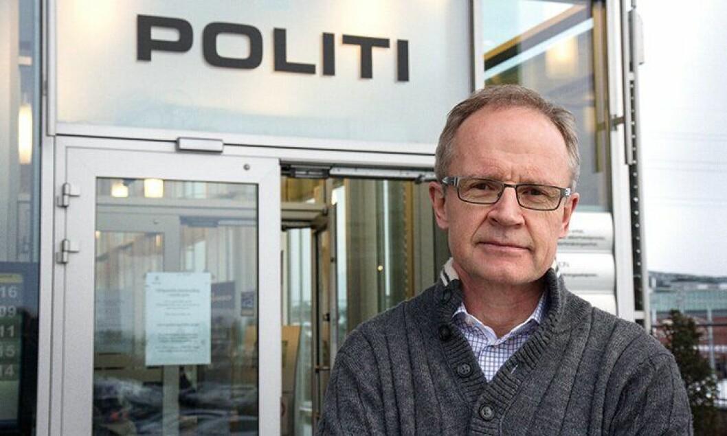 Politimester Arne Jørgen Olafsen i Follo politidistrikt.