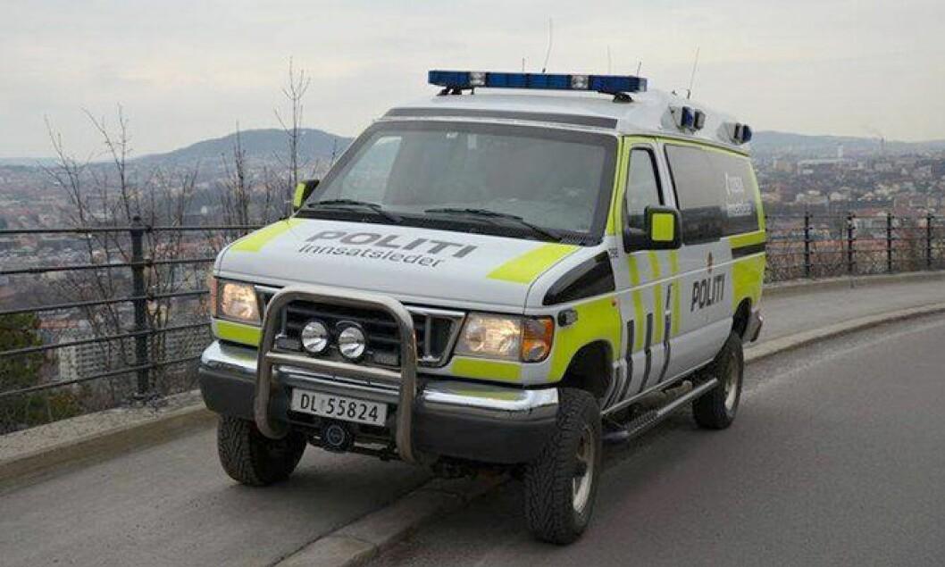 Oslo-politiets innsatslederbil har blitt pusset opp. Slik ser den ut nå.
