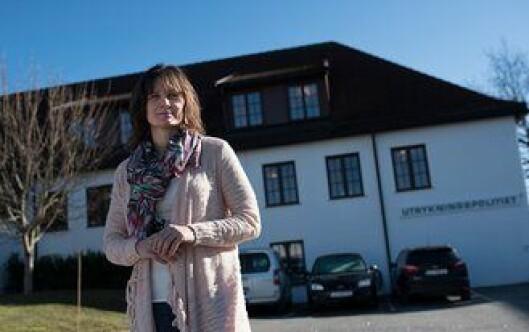 Grethe Brennhovd Claussen i UP