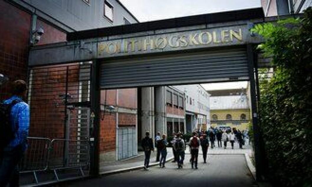 UT AV OSLO: Regjeringen vil flytte Politihøgskolen ut av Oslo og Majorstua. Dermed kan 429 årsverk og flere hundre politistudenter bli flyttet ut av hovedstaden.
