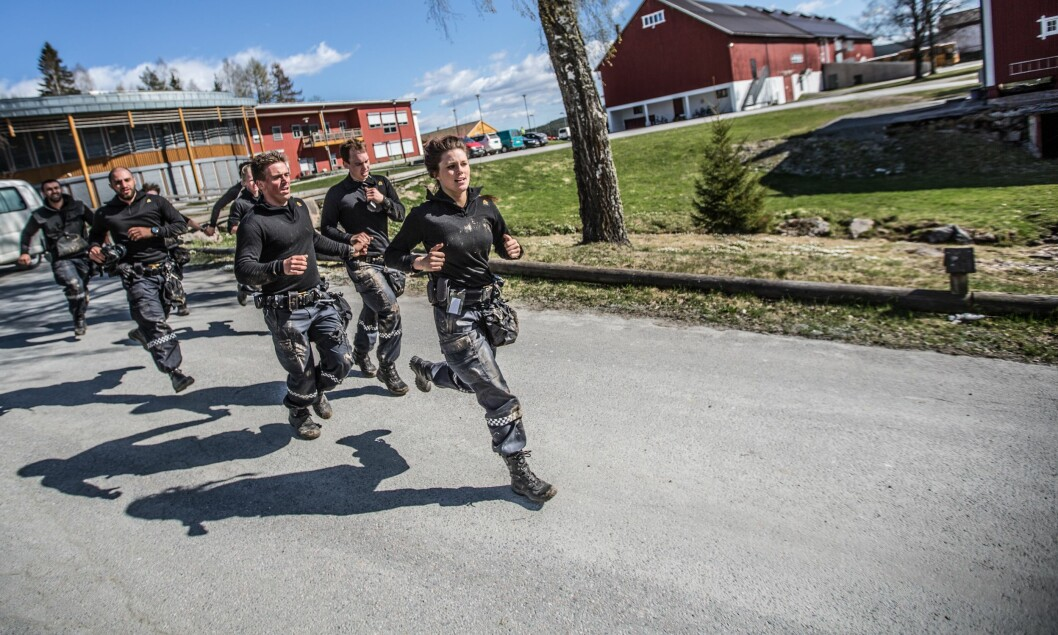 FØRST UT: Politihøgskolen i Kongsvinger er først ut. PF-studentene skal nå reise rundt om i landet får å se på mulighetene for en ny og samlokalisert politihøgskole.