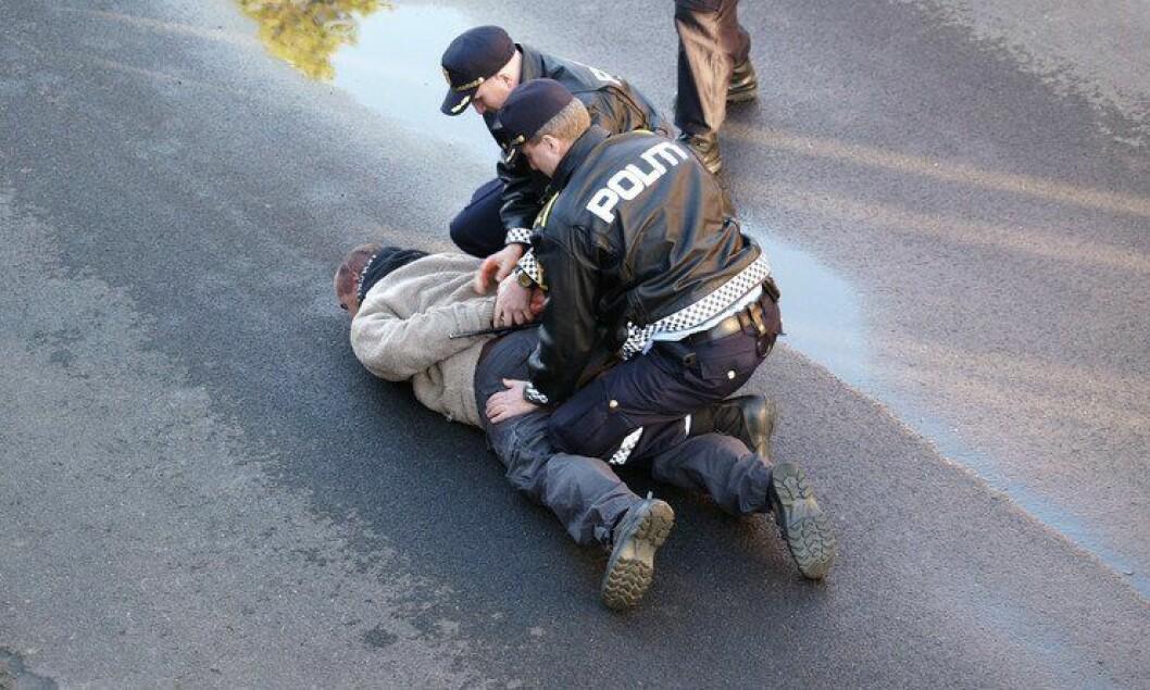 Fysisk: Av hensyn til samfunnsikkerheten kan ikke særaldersgrensen  i politiet oppjusteres, mener Sigve Bolstad, leder i PF.