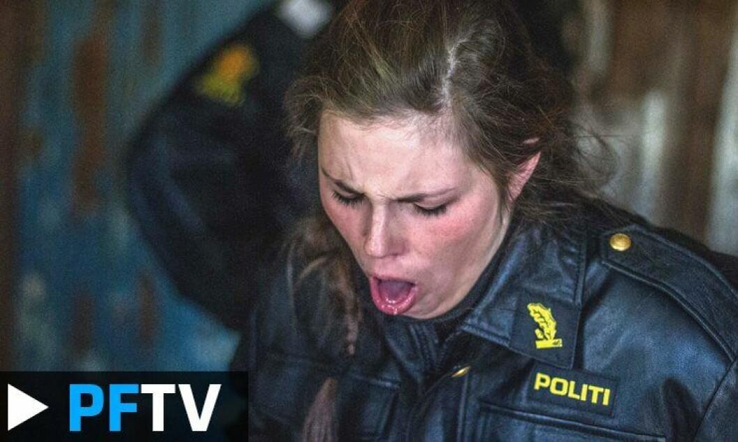 Dette er en naturlig reaksjon etter å ha blitt utsatt for CS eller pepperspray.