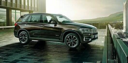 UEH-bilen. BMW X5 er valgt til ny UEH-bil. Det gjør at BMW kjenner prosessene fram mot nye patruljebiler godt.