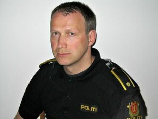 Artikkelforfatter Bjørn Pollestad, i permisjon fra politiet