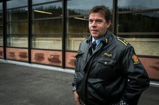 Jo Vhile i Oslo politidistrikt er glad for å ha nytt treningsbygg på plass.