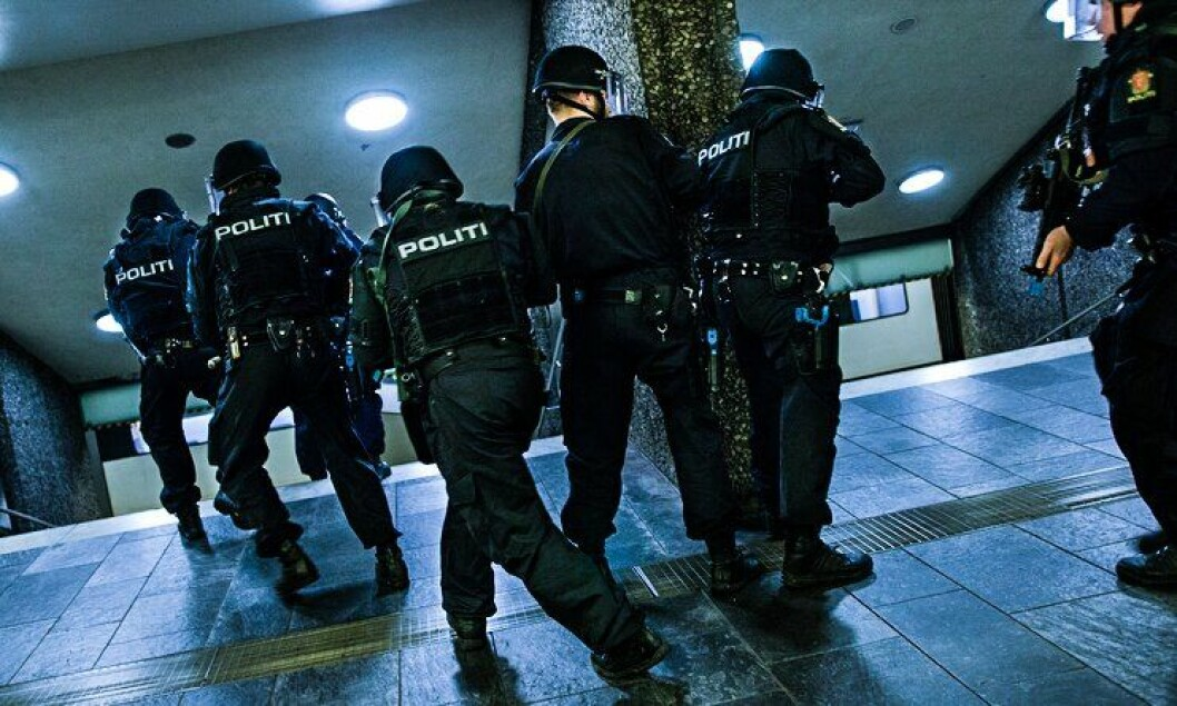 TAKTISK: Den taktiske evne og bevisthet har nok tatt seg opp noen hakk hos politiet siden innbruddspunktet ble satt i vinduet i Salangen.