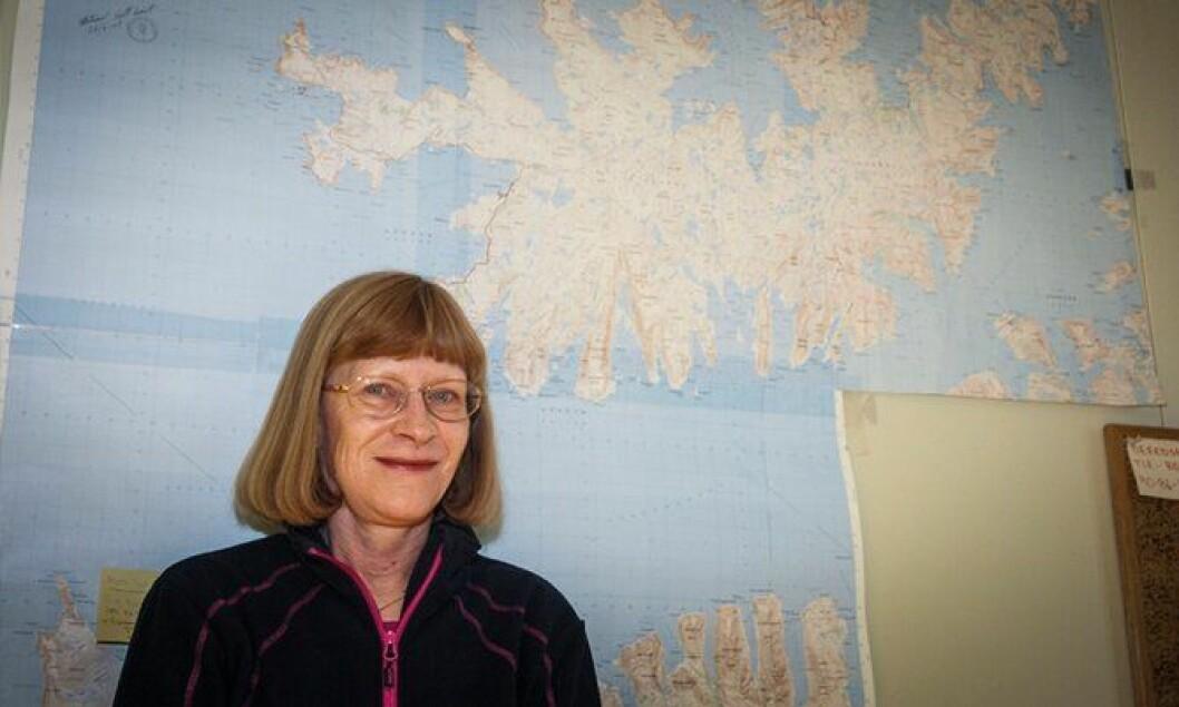 SIVIL: Konsulent og namsmann Barbro Engfelt har sagt hei og hade til et tjuetalls polititjenestemenn gjennom sine 15 år på kontoret.