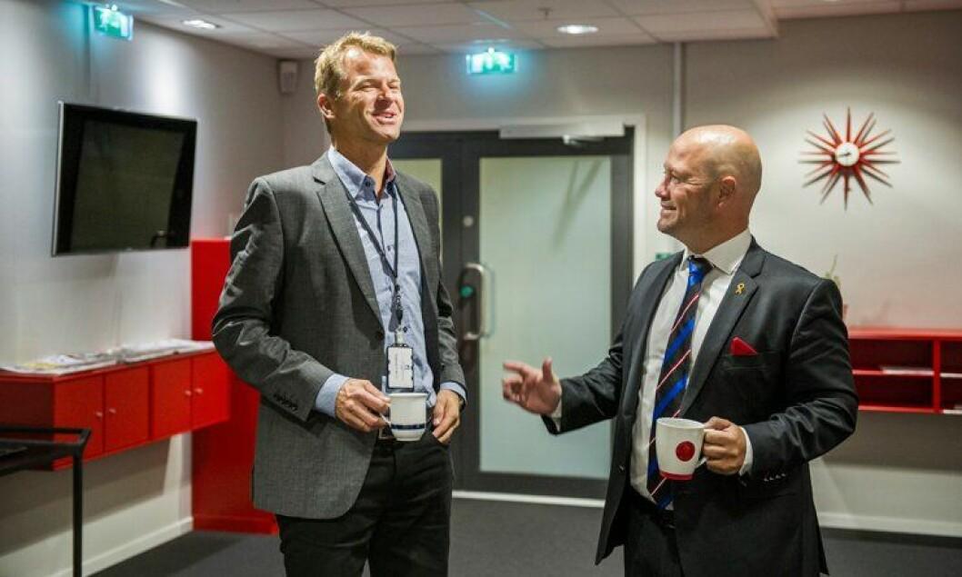 GOD STEMNING: Sigve Bolstad er godt fornøyd med jobben Anders Anundsen og politikerne har lagt ned for å få til politireformen.