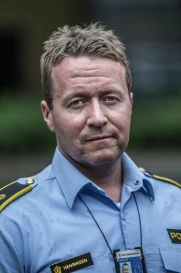 DOKTORGRAD: Vee Henriksen er i gang med doktorgrad om politiets bruk av skytevåpen. Formelt sett er han under studiet ansatt som politioverbetjent ved Forskningsavdelingen ved PHS.