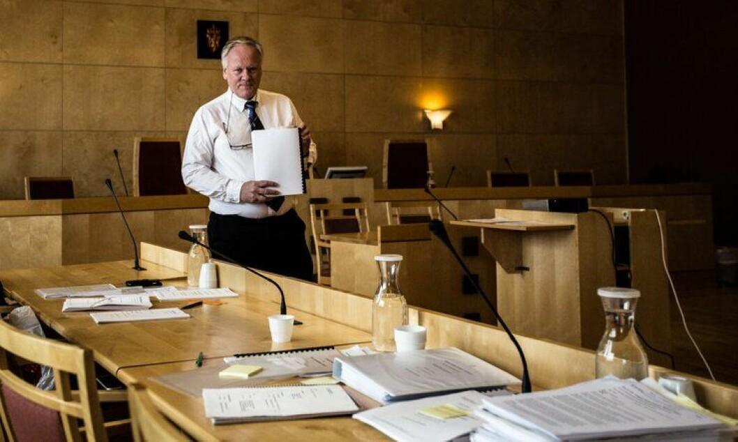 ANKER: Advokat Sigurd Klomsæt er forsvarer for mannen som skjøt politimannen i ryggen på Vinstra. Nå ankes saken etter domfellelsen i tingretten.