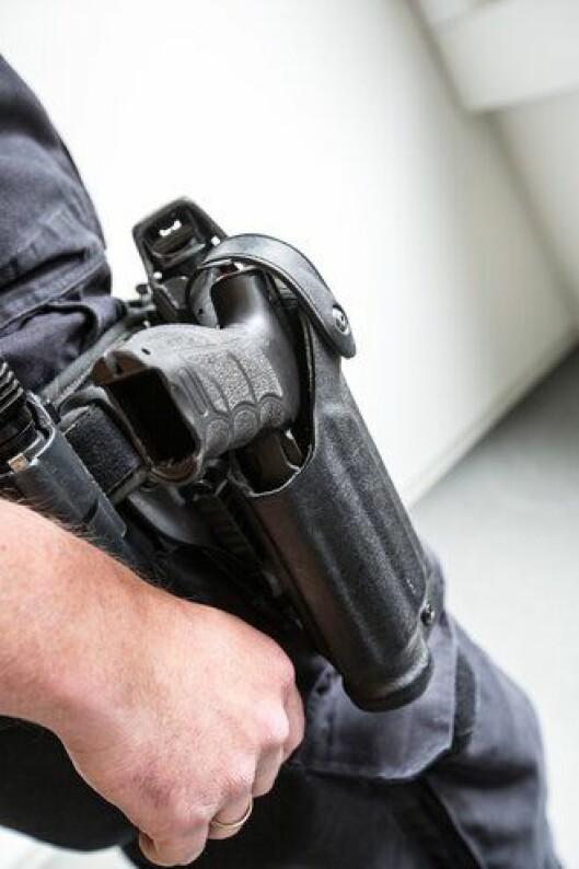 Politiets tjenestevåpen, hylstret