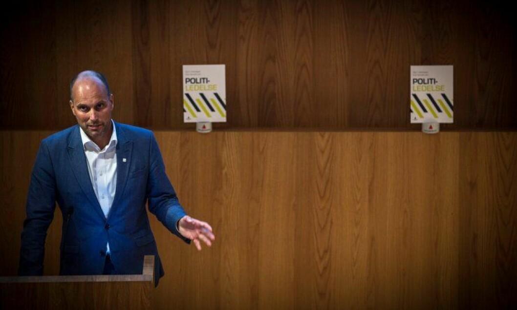 FRYKTKULTUR: Under lanseringen av boken «Politiledelse» kom Torbjørn Aas med nok et eksempel på fryktkulturen i politiet