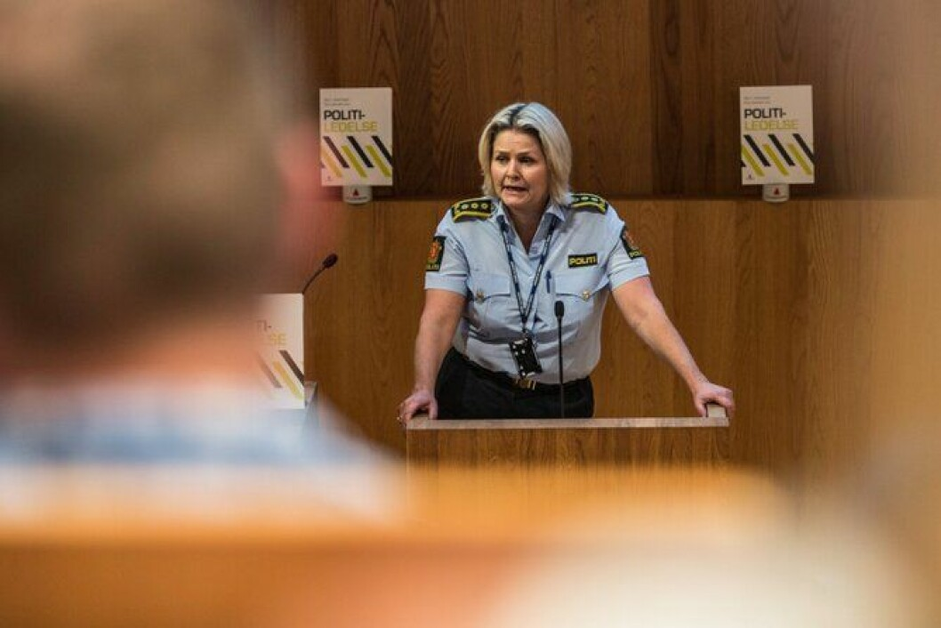 KRITISK: Politiinspektør Grete Lien Metlid sier det er svært viktig med ledelse i en svært krevende reformtid.