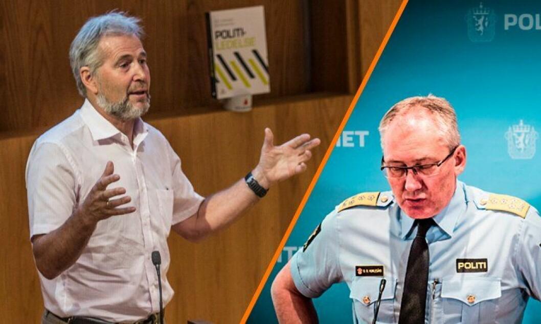 – Det er respektlaust å snakka  om «hjemmealenefest» i politiet. Dette er ein sterk nedvurdering av den sterke økonomistyringa og knallharde prioriteringa som leiarar gjer kvar dag for å få hjula til å gå rundt, skriver Arne Johannessen.