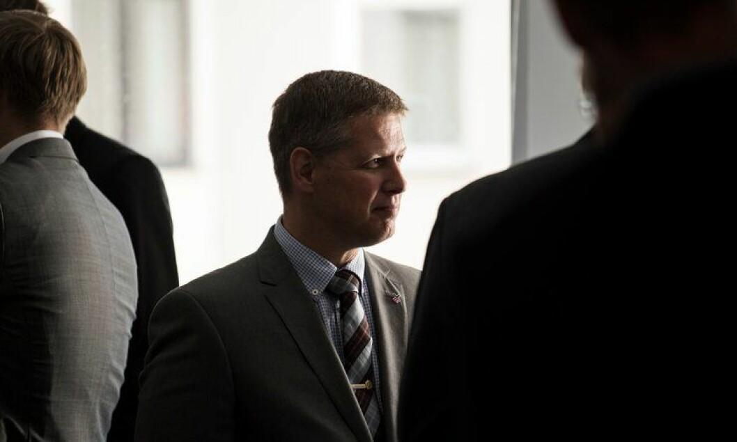 Curt A. Lier, president i Juristforbundet, har søkt jobb som politimester i tre politidistrikter.