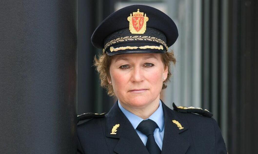 Politimester Christine Fossen er den eneste kvinnen som har søkt på politimesterstillingen i det nye politidistrikt Sør-Øst.
