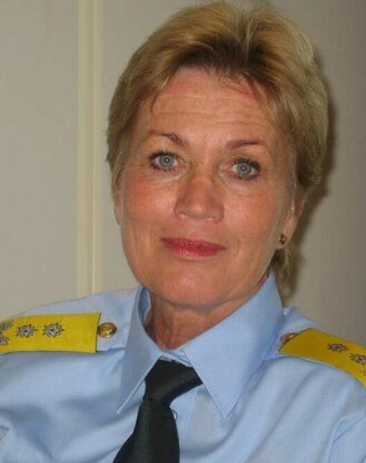 Politimester Kirsten Lindeberg i Agder